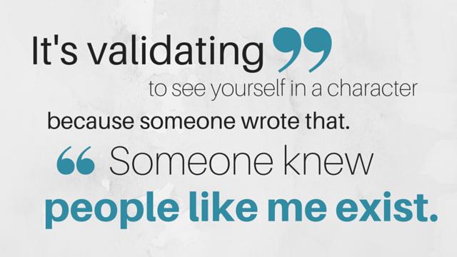 It's validating